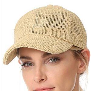 MADEWELL straw baseball hat